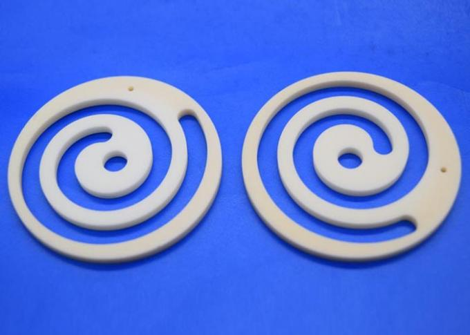 Precision Thermal Insulation Alumina Ceramic Gasket with Coil Heat Resistant
