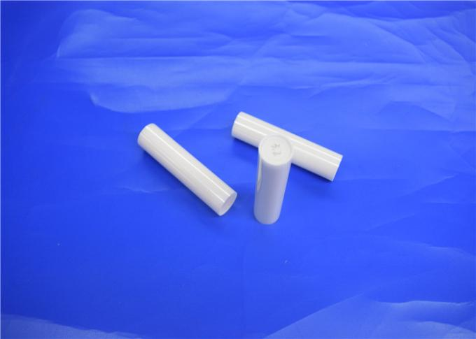 5 mm Zirconia Alumina Ceramic Rod , High Fracture / Toughness Ceramic Heating Rod