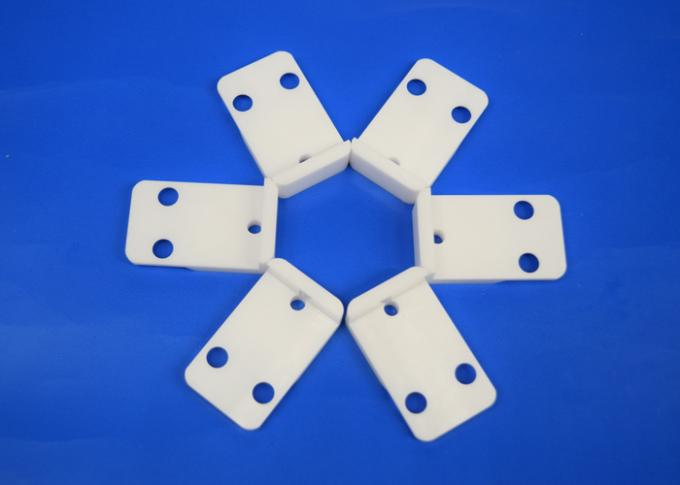 Machinable Zirconia Ceramic Engine Block , Custom White Ceramic Insulators