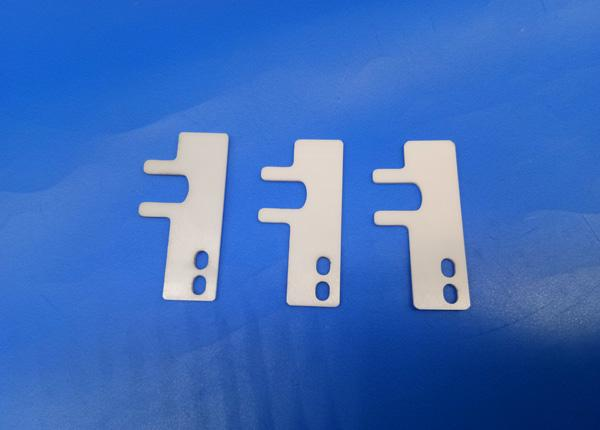 Insulating Zirconia Ceramic Motorized Slider Spacing / Wheel Spacer Parts