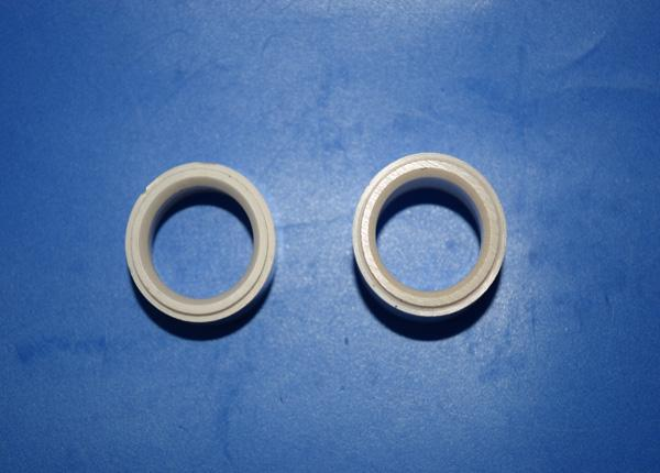 Alumina Ceramic Cylinder Sleeve 99% Al2O3 Ceramic Transformer Bushing Parts