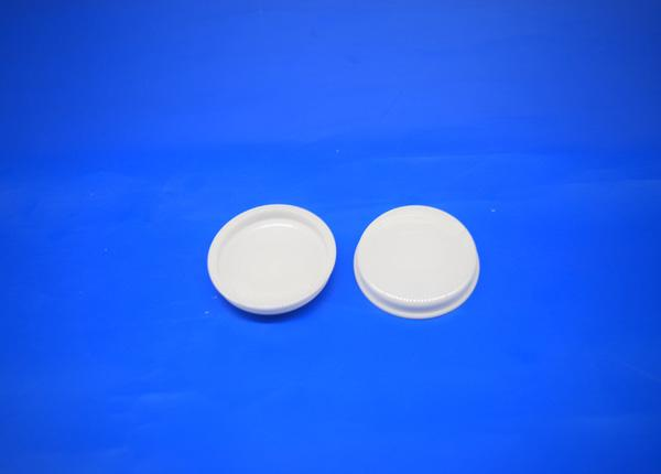 Black and White Zirconia Ceramic Button Cap Hat for Heat resistance Machine Parts