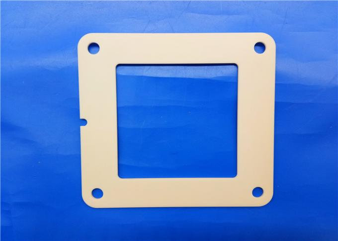 Technical Industrial Abrasion Resistance Alumina Ceramic Frame Pressing Plate