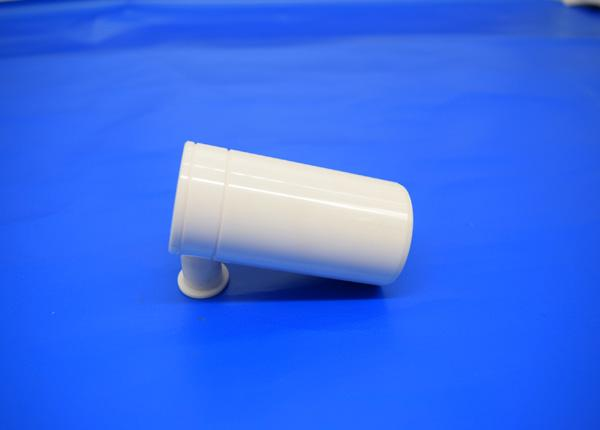 Solid 95% Alumina Ceramic Rod / Machinable Ceramic Rod With 8mm Precision