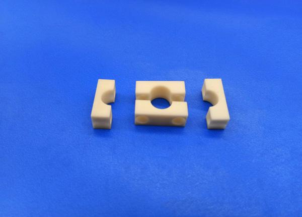 95 Alumina Ceramic Threaded Parts Al2o3 99% Technical Ceramics Insulation Fittings