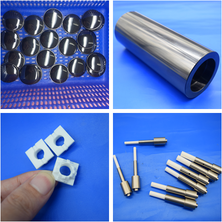 Ceramic Sheet  to Stainless Steel Metal Plate / Ceramic to Metal Parts