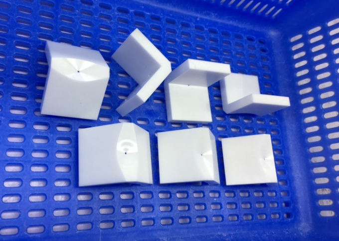 OEM Zirconia Ceramic  V Block /  Industrial Zirconia Ceramic Components