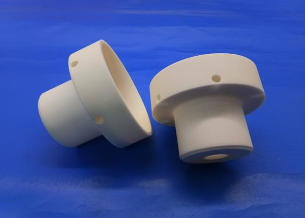 High Temperature And Voltage Alumina Ceramic Insulating Sleeve Insulator Bush 95% Al2O3