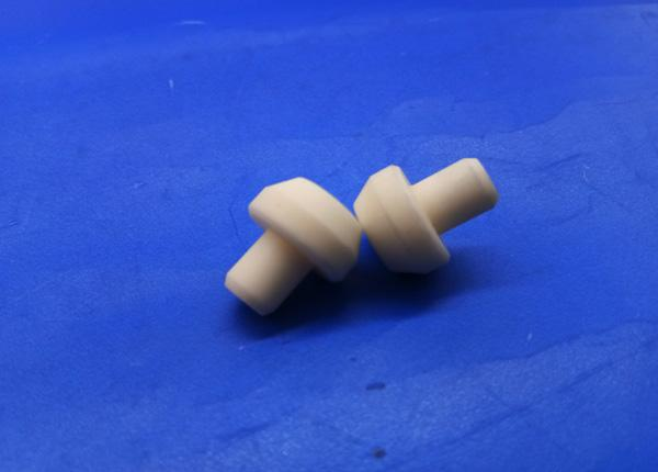 High Temperature 99 Alumina Ceramic Welding Nozzle 95 Al2o3 Welding Tip For Welding Machine