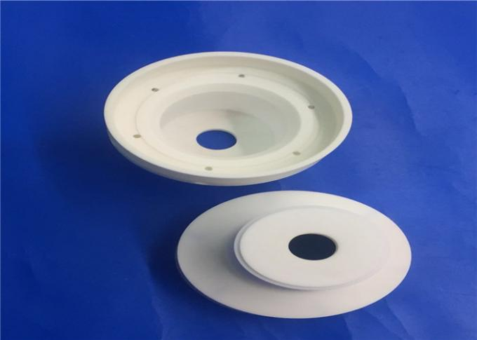 95% Alumina Ceramic Parts Electrical Insulator Piece / Bushing / Tube For Different Electrical Equipment