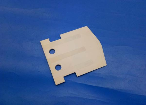 Personalized Porous Alumina Nec Semiconductor Ceramic Heater Plate