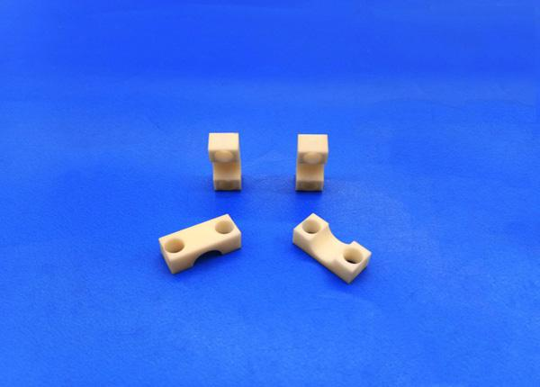 High Lapping Zirconia Ceramic Rod , Theraded Heater Piston Or Plunger Rod With Chamfer