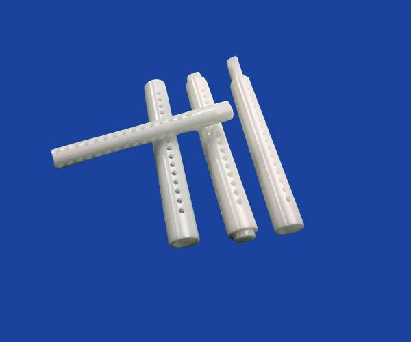 Precise Machinable Alumina Ceramic Shaft For Pump High Performance