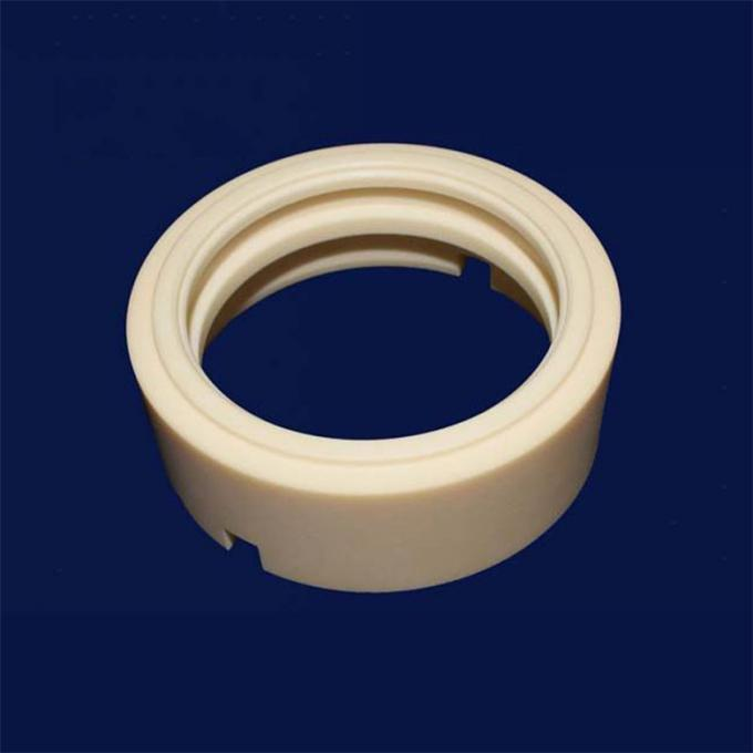 High Temperature Refractory Machining Ceramic Parts Bushing Ring Sleeveing Refining Industrial Equipment