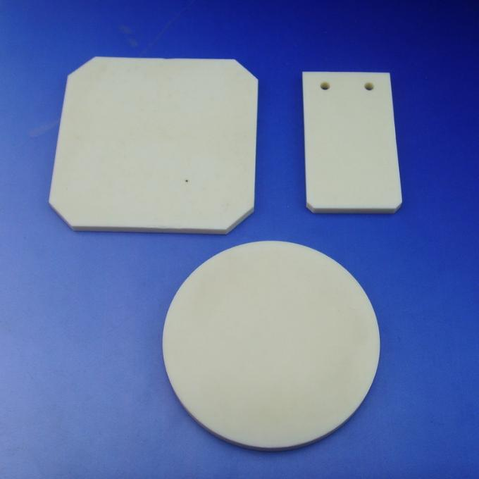 Thin Alumina Ceramic Disc / Alumina Ceramic Plates For Semiconductor Processing