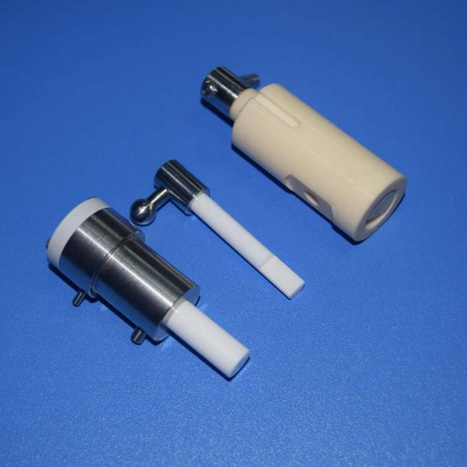 Zirconia Alumina Ceramic Plunger Pump Piston Cylinder for Pharmaceutical Food Beverage