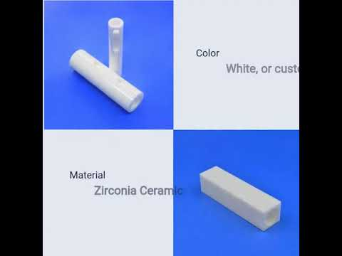 Wear Resistant 99% Alumina Ceramic Parts for High Pressure Pumps