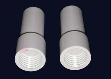 Customized Machining Alumina Ceramic Tube / Advanced Technical Ceramics Tube Parts