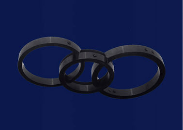 Anti-dirty Alumina Ceramic Parts Welding Equipment ,  Alumina Ceramic Ring