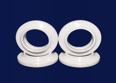 Electrical Insulation Ceramic Seal Rings / Industrial Zirconia Ceramic Ring