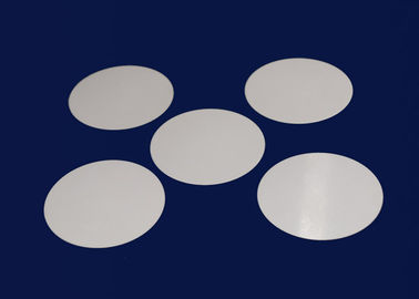 Round Alumina Ceramic Disc  Ceramic  Cylinder Type Good Dielectric Strength