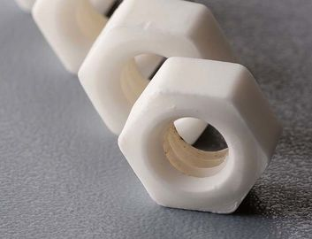 Alumina / Al2O3 Ceramic Threaded Rod Polishing Precision Ceramic Components