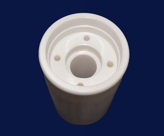 Alumina / Zirconia Ceramic Pipe Thermocouple Protection Tubes High Electrical Resistivity