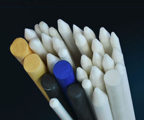 Electrical insulation Mechnical Strength Porous Zirconia Ceramic Rod Black 3mm