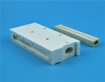 White Zirconia High Alumina Ceramic Block Locating Positioning Spacer Block