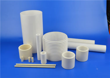 China High Temperature Wear Resistant 95% 97% 99% Machinable Alumina Ceramic Thread Tube supplier