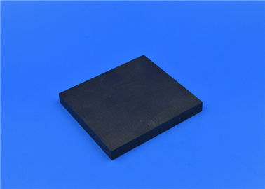 Custom Advanced Technical Ceramics Black Zirconia Alumina Ceramic Sheets / Substrates