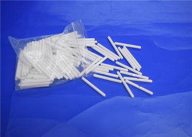 China Groove Zirconia Ceramic Shaft for Aquarium Pump , Ceramic Impeller Shaft Round End supplier