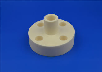 Ultra High Vacuum Conversion Alumina Ceramic Flat Flange Wear Resistant