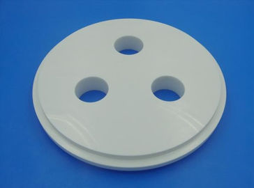 Thermal Conductive 99% Alumina Disc / Round Ceramic Disk for Electronic Modulus