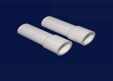 High Purity 99.5% Al2O3 Piezo Ceramic Tube Heater Abrasion resistant