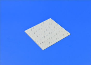 High Thermal Conductivity Alumina Ceramic Plate , Porous Thin Alumina Ceramic Substrate