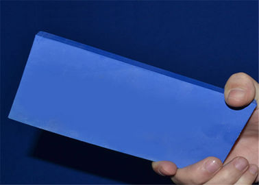 Heat Resistant Blue Ceramic Plate / Machinable Ceramic Block with Good Smoothness
