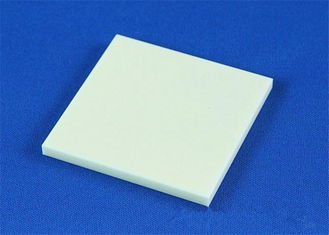 High Hardness  95% - 99.7% Alumina Ceramic Plate Customized White