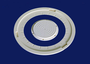 Picking Up Arm Semiconductor Ceramic Ring with Vacuum Slot OEM