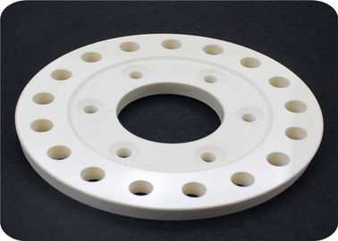 99% Machinable Porous Ceramic Disc , Alumina Ceramic Precision Machining Parts