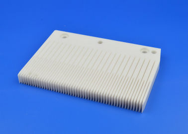 500 Slots Pitch 2.38 Zirconia Ceramic Quartz Boat For Semiconductor Wafer Processing