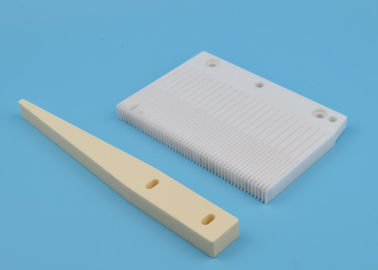 Chemical Corrosive Zirconia Ceramic Quartz Wafer Boat In Semiconductor Chip Processing