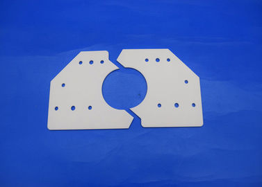 China Offer High Precision Customized 95%-99.99% Alumina AL2O3 Ceramic Plates For Industrial