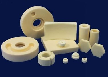 Electrical Insulation Alumina Ceramic Components , Corrosion Resistance Ceramic Hexagon