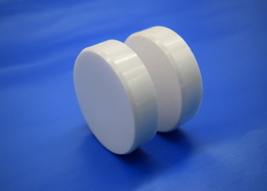 White Color Machinable Ceramic Block 95 - 99.7 % Alumina Circular Block / Disc