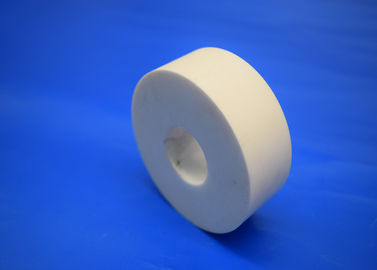 Heat resistant Alumina Ceramic Parts Zirconia Ceramic Pump Shaft Sleeve / Disc