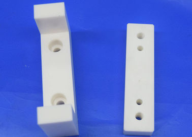Electrical Insulation Ceramic Holder / Support / Block With Threaded Hole