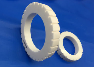 Insulation Industrial Ceramic Seal Rings With Tooth Groove High Temperature Resistant