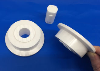 High Fracture Toughness Zirconia Ceramic Roller Pulley with Ceramic Shaft