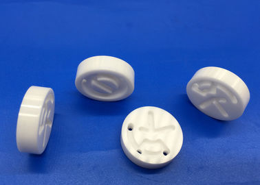 Zirconia Ceramic Disc / Round  Ceramic Block with Holes Slot Pattern Design